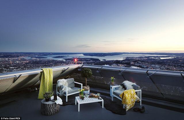 Sísánc tetejére épült a luxuslakás