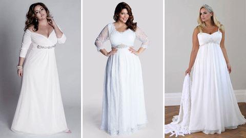 10 tanács: így válassz plus size esküvői ruhát
