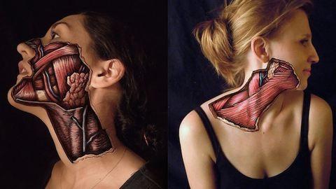 Így néz ki, amikor átlátszik az emberi bőr