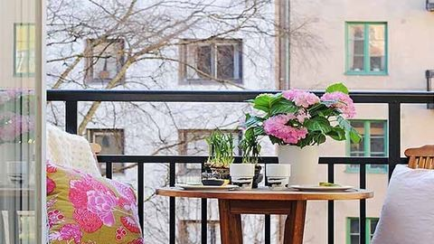 Inspiráció: 24 gyönyörű, tavaszi balkon