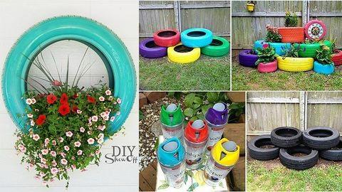 Így dekoráld a kertedet! – alternatívák virágcserépre