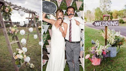 30 gyönyörű, tavaszi esküvői dekoráció