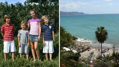 """""""Mindennap van okunk mosolyogni"""" – négy gyerekkel Szlovákiából Andalúziába"""