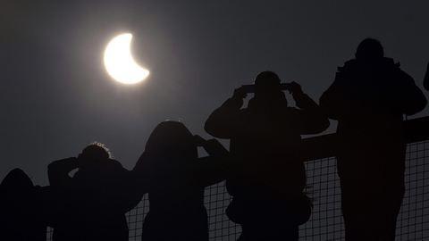 A legszebb képek a mai napfogyatkozásról