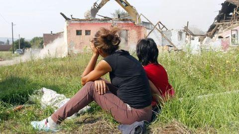 Kanadába készülnek a miskolci romák