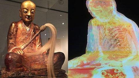 Kiderült: tényleg lopott a Budapesten kiállított, múmiát rejtő Buddha-szobor