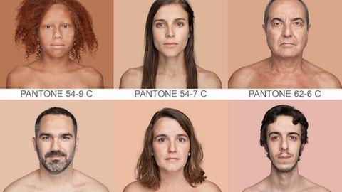 Az összes létező bőrszínárnyalatot lefotózza – galéria