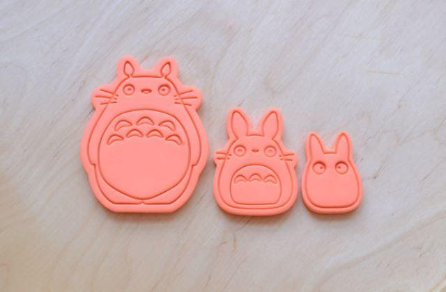 Totoro - A varázserdő kekszformák