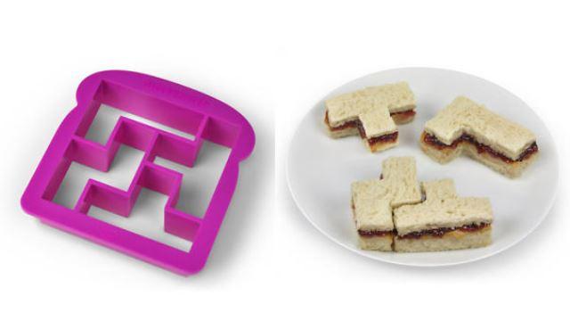 Tetris szendvics daraboló