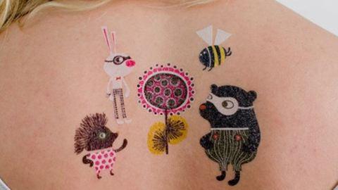 12 szuper lemosható tetoválás – fotók