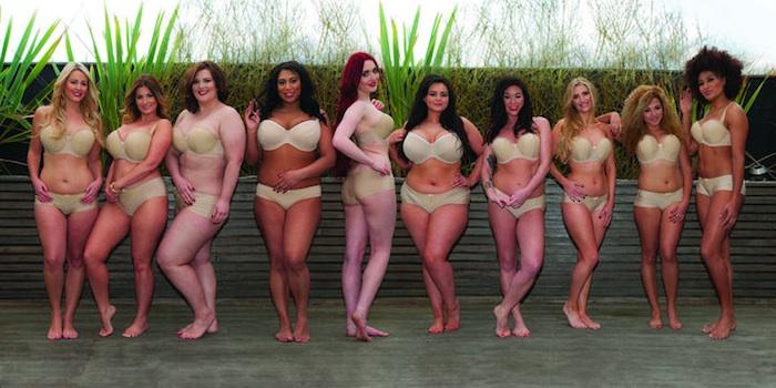 Valódi nők fehérneműben - így hódít az angol márka