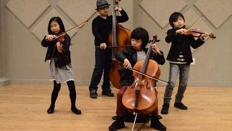 Elképesztően játszik a gyerekekből álló vonósnégyes – videók