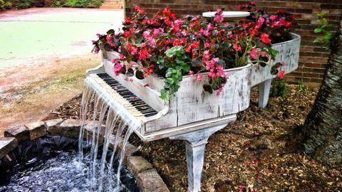 Kreatív kert – dekorációs ötletek lomokból