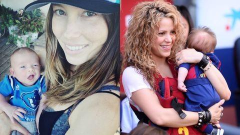Cuki babák hétvégéje – Justin Timberlake először mutatta meg kisfiát, Shakiráék meccsen debütáltak