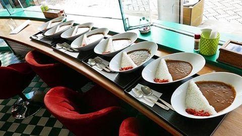 Elképesztően tálalja a rizst a japán étterem – fotók