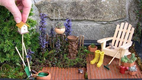Idén divat, ami kicsi: 20 gyönyörű aprócska kert
