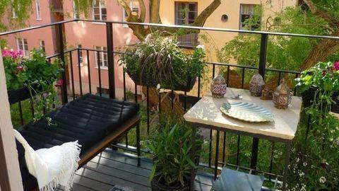 20 ötlet, amitől egy kicsi erkély is otthonos lesz