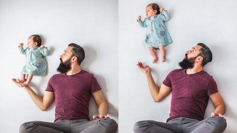 Tündéri és kreatív fotókat készítettek babájukról a szülők – galéria
