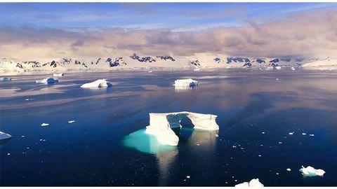Lélegzetelállító felvétel készült az Antarktisztról – videó