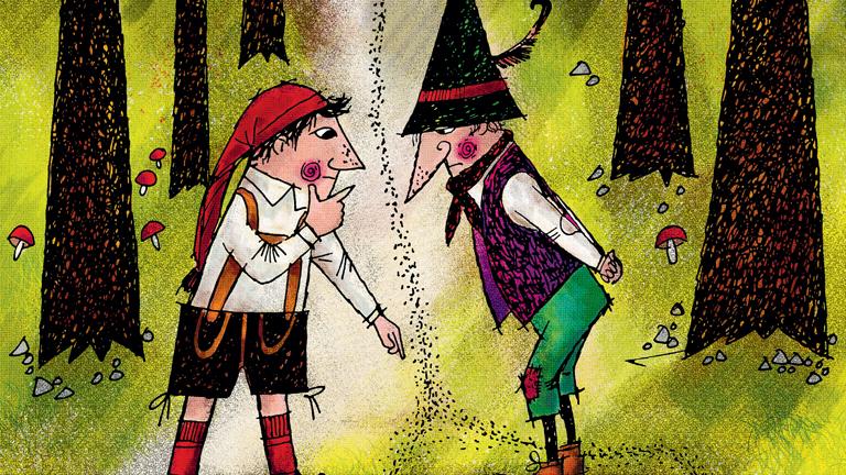 Otfried Preußler: Torzonborz, a rabló - Egy jó álca mindennél többet ér