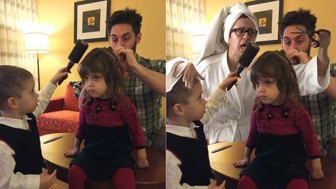 A családi fotókra photoshopolta magát az anya – vicces galéria