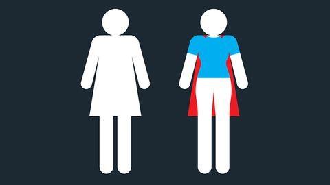 Így még sosem láttad a női mosdó jelet!