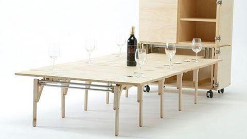 Csúcsszuper asztalok a lakásodba – fotók