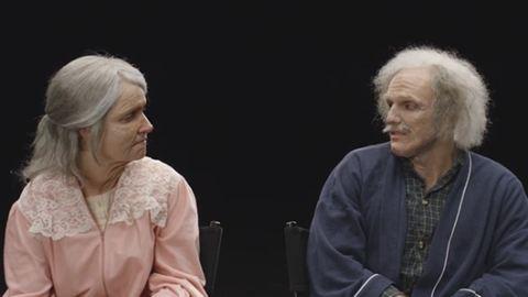 Pár óra alatt évtizedeket öregedett a fiatal pár – videó
