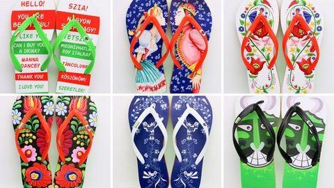 Ismerd meg a magyaros flip-flop papucsot