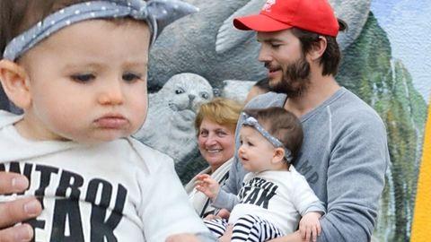 Ájuldozzunk együtt Ashton Kutcher csodaszép kislányától – fotók