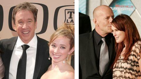 Büszke lányos apukák Hollywoodban