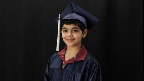 11 évesen diplomázott le a kisfiú