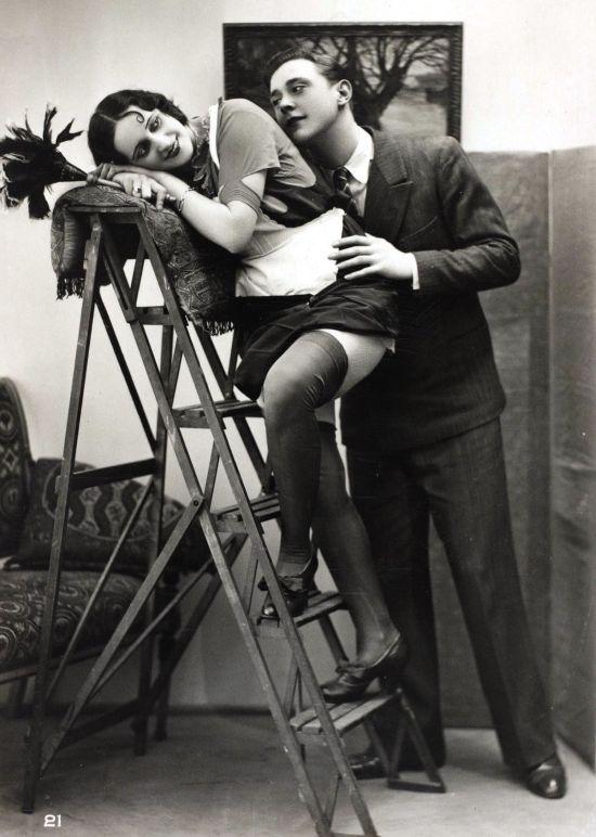 Erotikus képeslapok 1920-ból, amiktől ma már a szemünk sem rebben