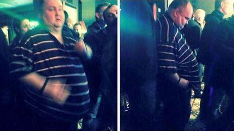 Fergeteges bulit kapott a kövér férfi, akit szétcikizett a fél internet – videó