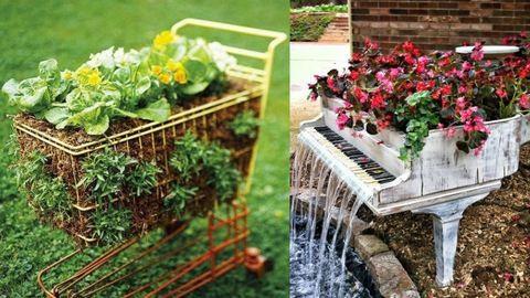 15 fantasztikus ötlet, amivel feldobhatod a kertedet