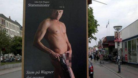 Meztelenül akar választást nyerni egy dán politikus