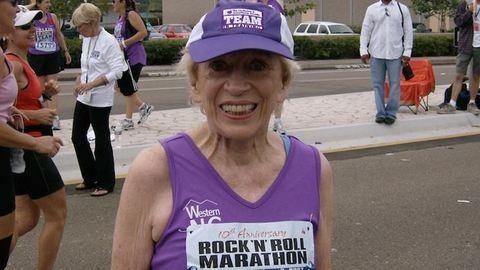 Lefutotta a maratont egy 92 éves nő – fotó