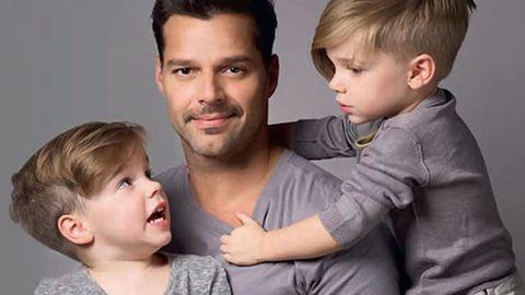 """""""Erőt adtatok egy őszinte élethez"""" – Ricky Martin levele a fiaihoz"""