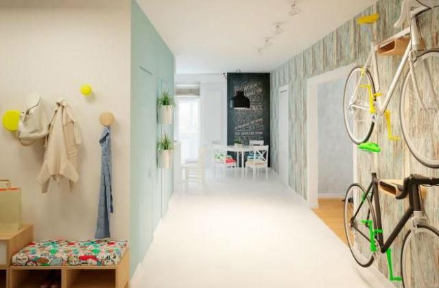 Remek példa arra, milyen szépen beletud olvadni a lakás hangulatába a kedvenced! Fotó: pinterest.com