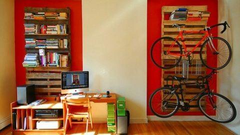 Íme a legmenőbb biciklitartók a lakásba!