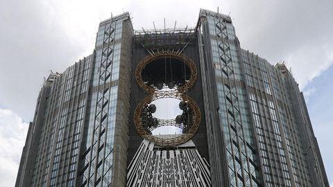 Ez a világ első nyolcasalakú óriáskereke – fotók