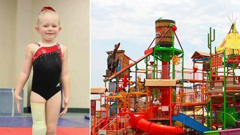 Nem engedték fel a lábprotézises kislányt a csúszdára