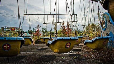Ilyen egy üres vidámpark Japánban – hátborzongató fotók