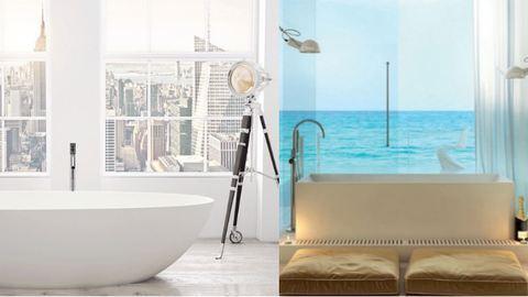 20 dizájnos fürdőszoba, amitől leesik az állad – képek