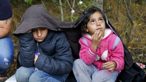 Immunbetegség okozta a két szír gyerek sérüléseit