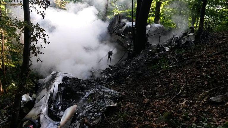 Légi katasztrófa történt Szlovákiában