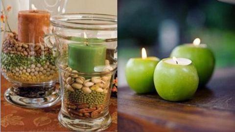 5 mutatós őszi gyertyadekoráció