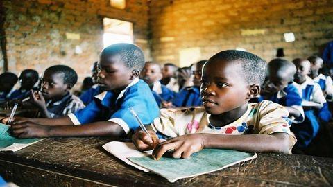 Az afrikai iskolák helyzete – képekkel!