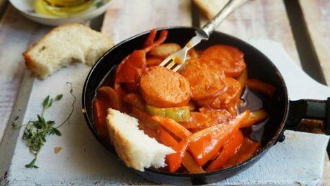 Gyors vacsora: görög lecsó