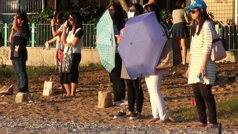 Napfénnyel fogyókúráznak a hongkongi nők